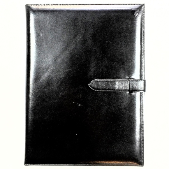 6284ccca127 Aspinal of London Accessories - EUC Aspinal of London Executive Saffino  Padfolio